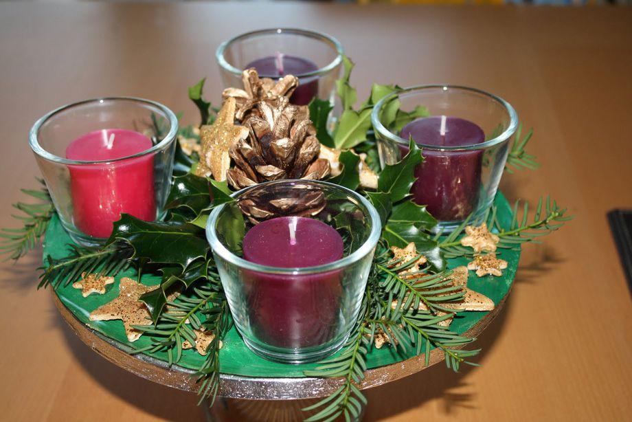 Come fare la Corona dell'Avvento di Natale | Mamme Magazine